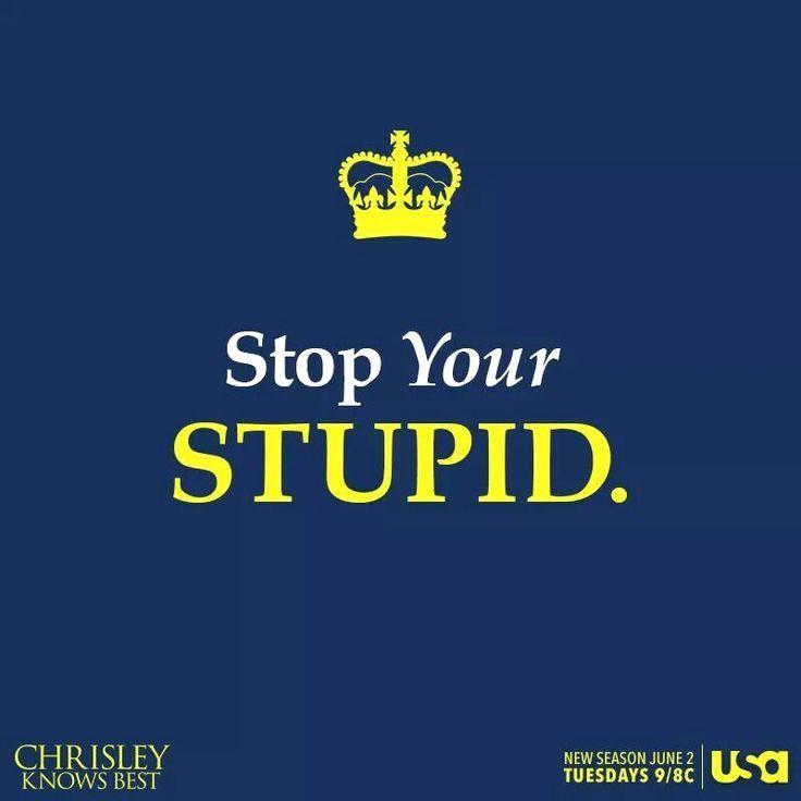 Chrisley Knows Best ...  Chrisley expresses  http://www.bestofchrisleyknowsbest.com :)