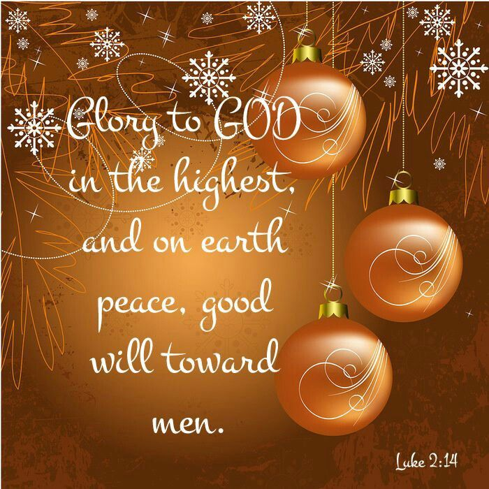 Luke (NKJV)   U201cGlory To God In The Highest, And On Earth Peace, Goodwill  Toward Men!