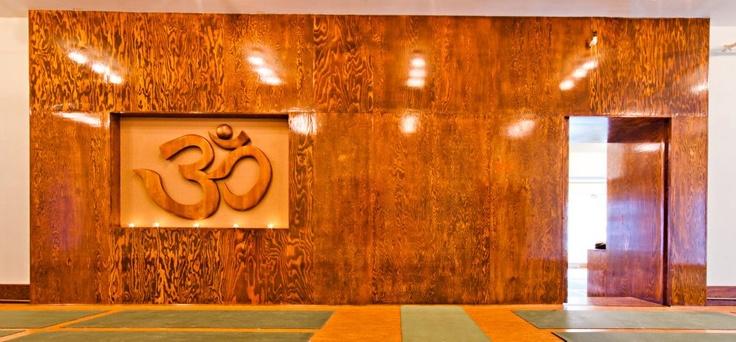 "Photo by Dave Hamilton, The Front main #yoga room ""OM"""