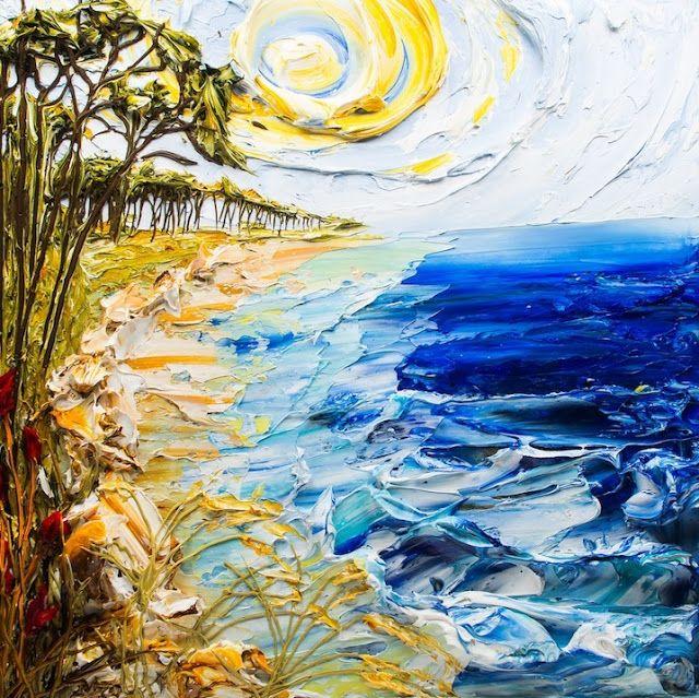 Képtár: Érintés - A festményt látni és megérinteni… ahol elmosódnak a határok a festmények és a szobrok között. Justin Gaffrey technikája a szobrászat festékkel, minden képe egy a színek és a textúra közötti impresszionista kapcsolatot… (Németh György)