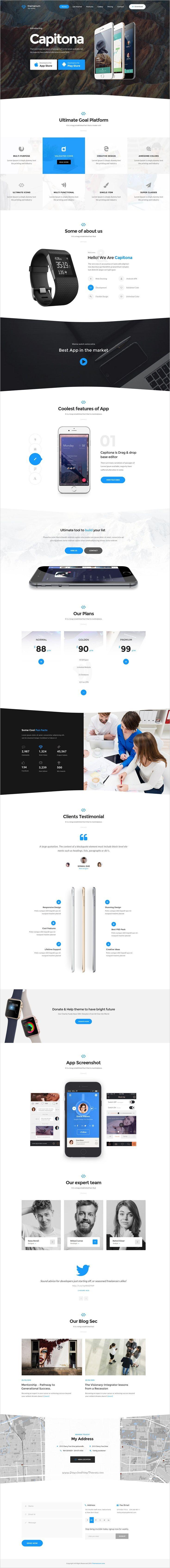 Themenum is a wonderful 6 in 1 #Bootstrap #landing page template for #app startups website download now➯ https://themeforest.net/item/themenum-multipurpose-app-showcase-responsive-html-template/17184042?ref=Datasata