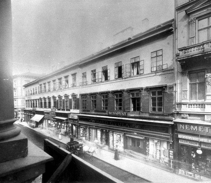 Király utca 21. ca. 1896