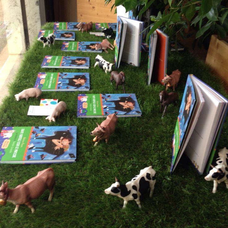 Siate gentili con le mucche a radice-Labirinto.