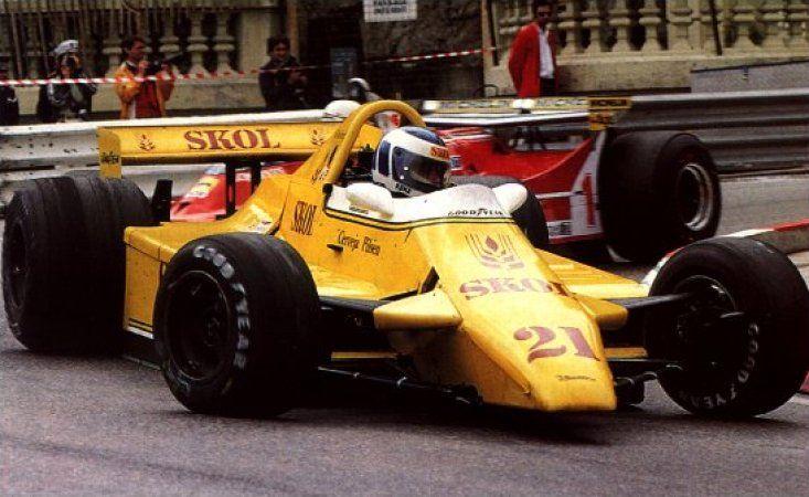 1980 GP Monaco (Keijo Rosberg) Fittipaldi F7 - Ford