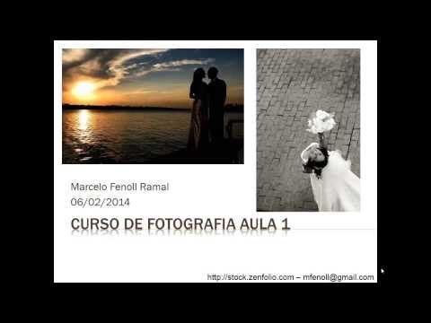 Curso de Fotografia Grátis - aula 1 - máquinas e lentes - YouTube