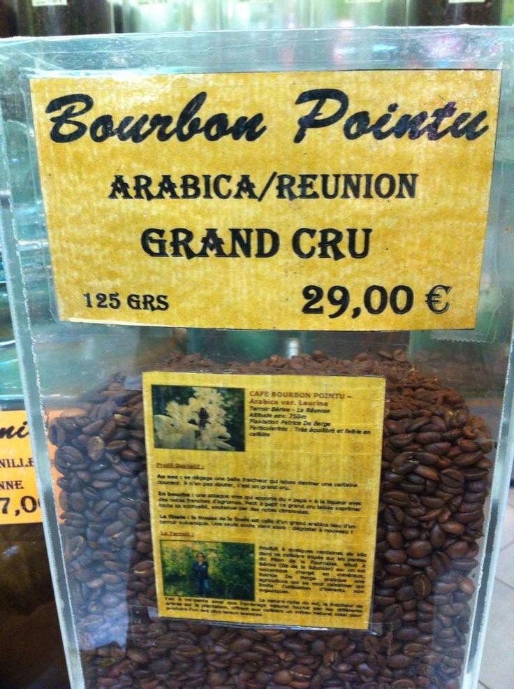 #BourbonPointu #Café #Arabica #LaRéunion prisé par les Japonais mais pas à la portée de ttes les bourses #WeAre974