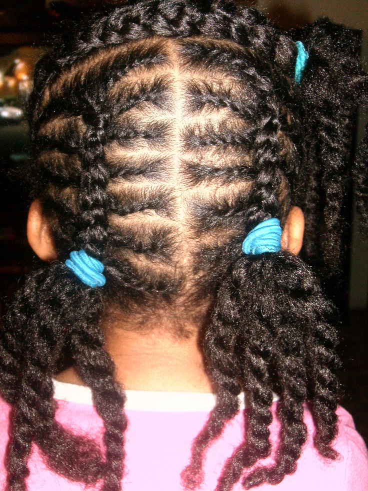 Flat Twists And 2 Strand French Braids Natural Hair Care
