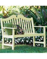 Jamestown Outdoor Wood Bench - Improvements