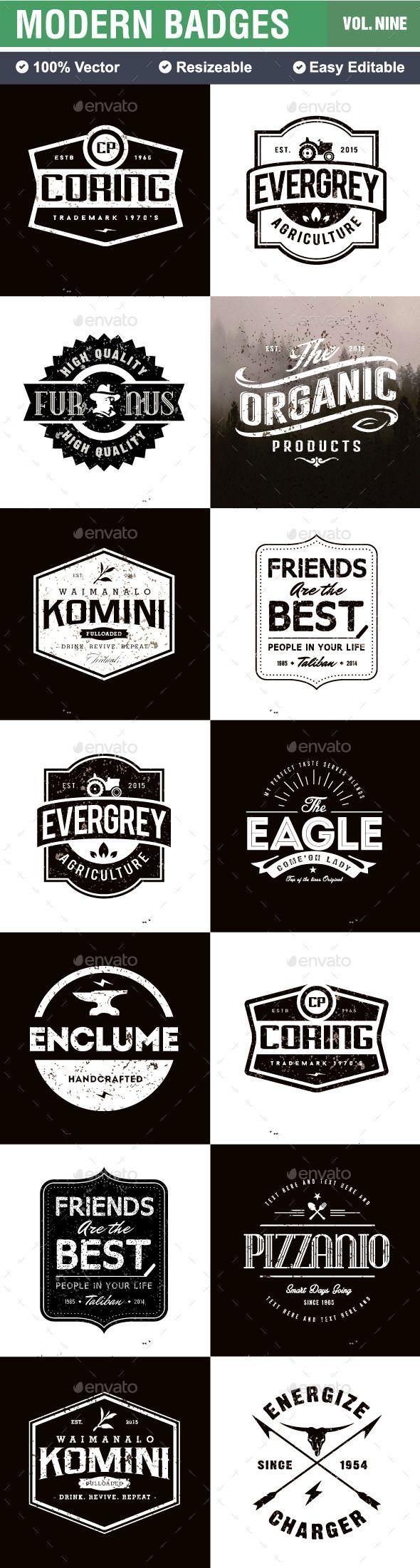 Badges and Logo | #badges #logo | Download: http://graphicriver.net/item/badges-and-logo/10449915?ref=ksioks