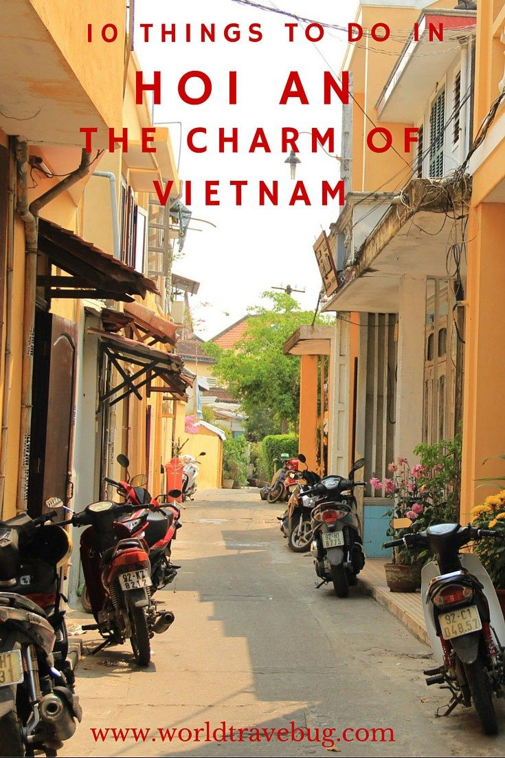 "Hoi An is not your typical sightseeing town. There are no big sights to ""tick off"" your list. It is a town to take in, relax and enjoy. And in my view, here are the top 10 things to do in Hoi An:"