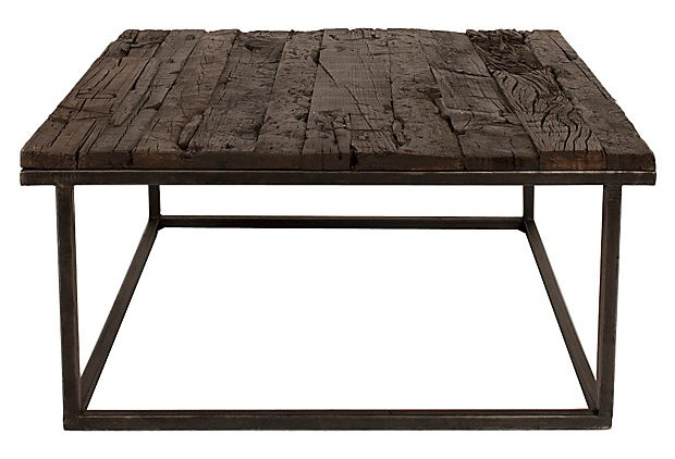 Rustic Square Coffee Table Plans Downloadable Free Plans