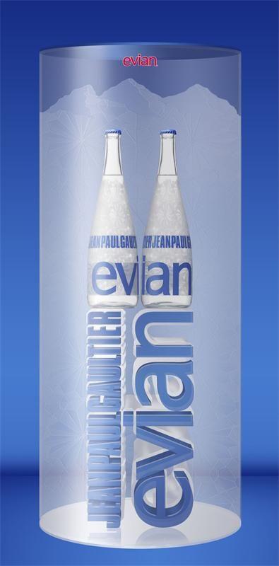 Жан-Поль Готье разработал дизайн бутылок Evian Знаменитый дизайнер Жан-Поль Готье (Jean-Paul Gaultier) разработал новый дизайн бутылок французской минеральной воды Evian.Жан-Поль Готье разработал...