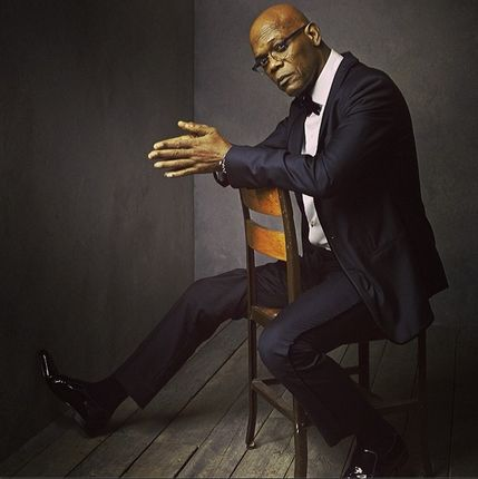 Photos: Inside Mark Seliger's Portrait Studio at the Vanity Fair Oscar | Vanity Fair Samuel L. Jackson