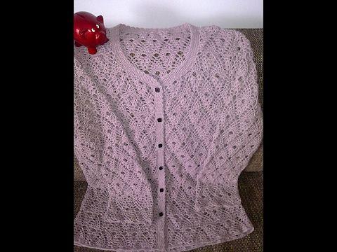 Crochet Patterns  for free  crochet cardigan  1581 - YouTube
