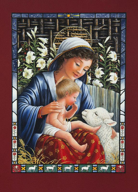 MADONNA OF THE LILIES BY LYNN BYWATERS