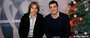 Modric y Kovacic felicitan la Navidad