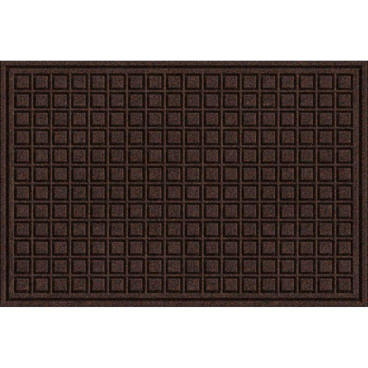 TrafficMASTER Brown 24 in. x 36 in. Synthetic Surface and Recycled Rubber Commercial Door Mat-60-885-1403-20000300 - The Home Depot