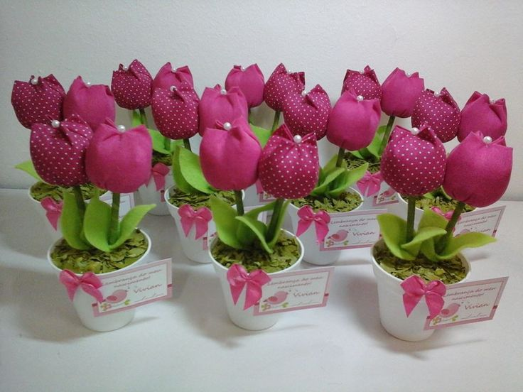 lembrancinha-vasinho-tulipas-tecido-pink-pink