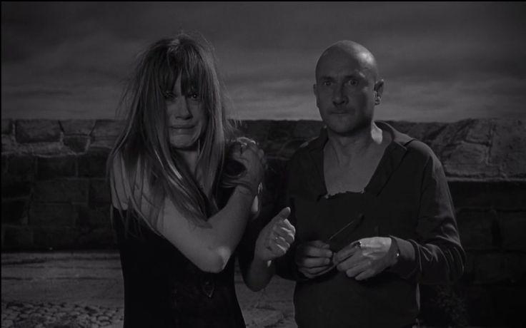 Donald Pleasence and Françoise Dorléac in Cul-de-sac, (1966) - IMDb