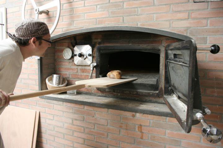 Jesús Querol al forn Ronyó.