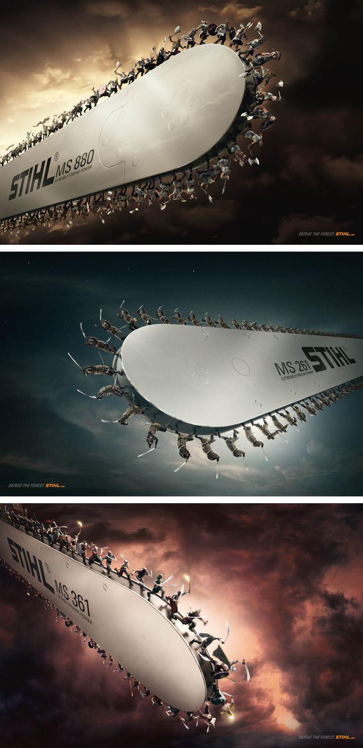 Stihl Warriors #brand #branding #socialmedia www.tbastudios.com