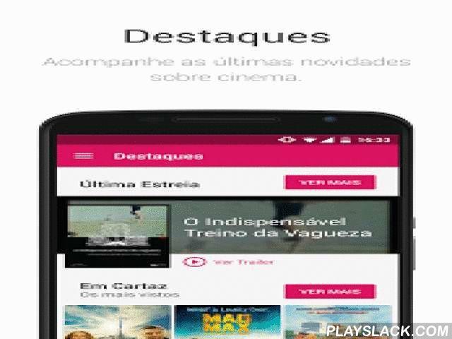 SAPO Cinema  Android App - playslack.com ,  A aplicação SAPO Cinema oferece todas as novidades do mundo do cinema no seu telemóvel. Acompanhe as estreias e consulte os horários dos filmes nas salas mais próximas de si. Veja os trailers e saiba toda a informação sobre um filme, desde a sinopse até aos atores e realizadores. A aplicação dá-lhe ainda a possibilidade de saber quais os filmes disponíveis na próxima hora na localização que pretender.Com a Aplicação SAPO Cinema pode ver:- Estreias…