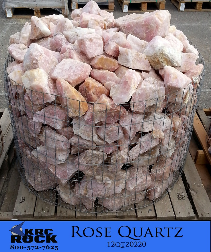 rose quartz specialty landscaping materials krc rock