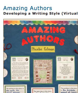 The Amazing Authors Activity!  This is a fun activity from the Balanced Literacy Diet. It motivates students and allows them to pick and choose different aspects of stories to write about each month. Students learn about amazing authors, and become amazing authors themselves! Great activity BLD!