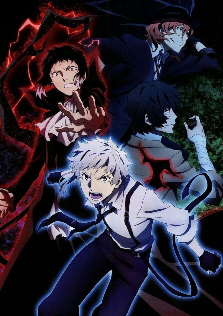 Pin by anime lab on bungou stray dogs Stray dogs anime