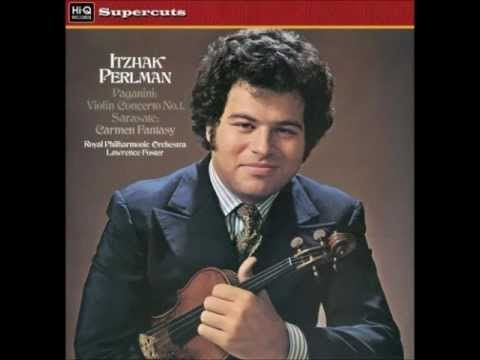 Perlman plays Sarasate - Carmen Fantasy - I really like Mr. Perlman playing anything Gypsy.  He seems like he really is best there.