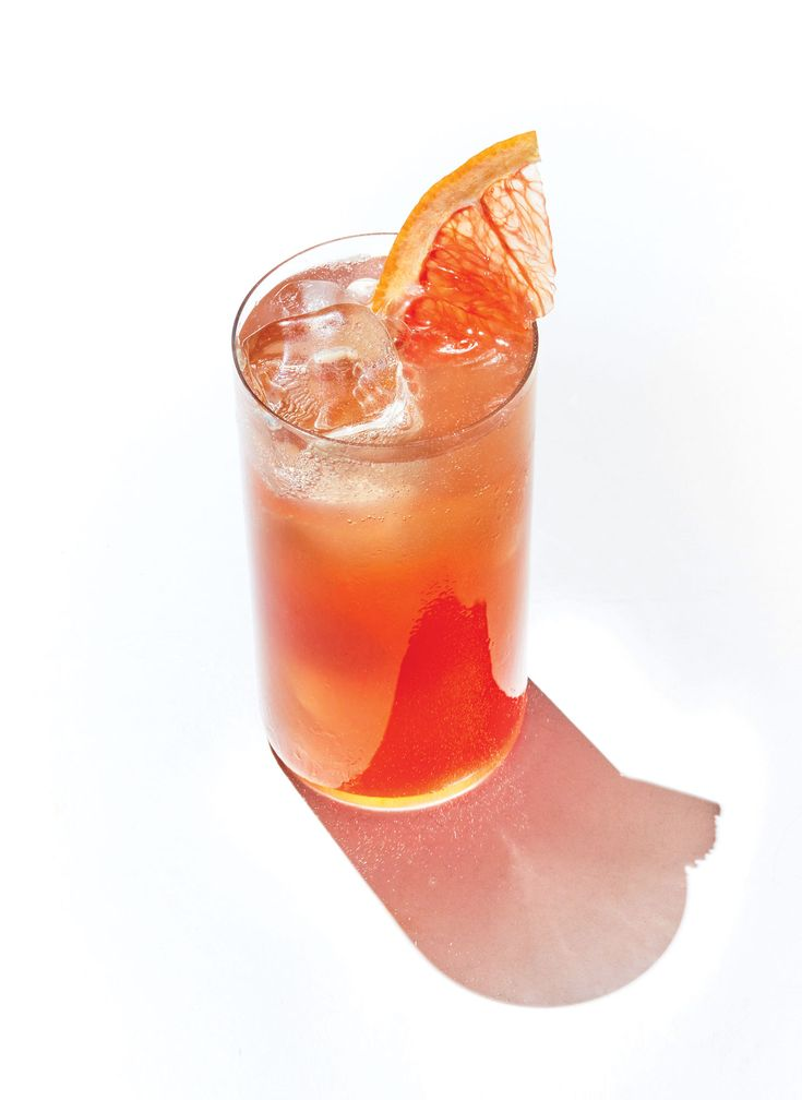 Pomegranate Paloma | This is a play on a paloma cocktail, a favorite from Mexico. Rather than using sweet grapefruit soda, we call for fresh grapefruit juice for a fruit-forward beverage with less sugar and more vitamin C than the classic. Calorie-free club soda adds refreshing fizz, while pomegranate's distinct flavor and bright red color make this cocktail shine. In season from September to January, fresh pomegranates pack a powerful punch of heart-healthy polyphenols.