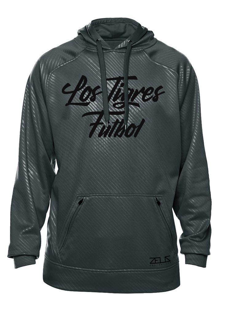 Los Tigres Fútbol Poly Fleece Hood