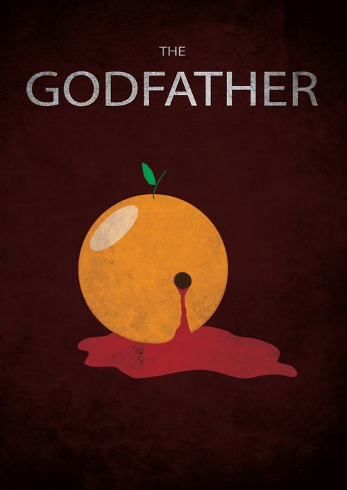Minimal Movie Posters - The Godfather