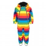 #Molo Pyxis Rainbow #Snowsuit, matching with #gloves and #hat £120
