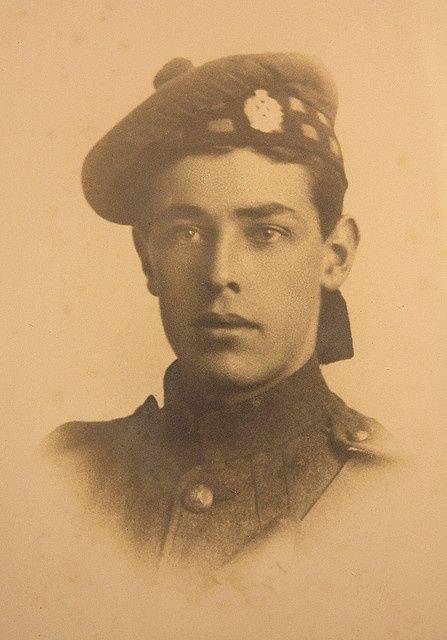WWI Scottish soldier James Gray