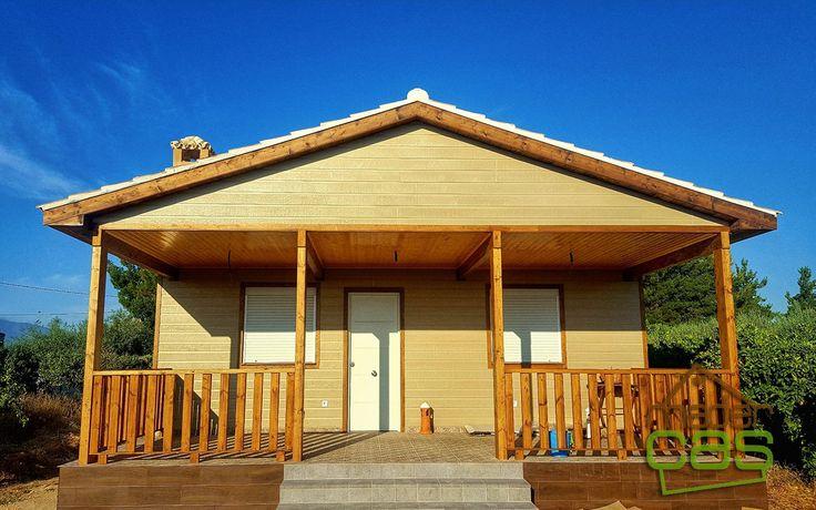 Casa de madera canexel arena 104 m2 es una casa de madera - Canexel precio m2 ...