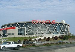 Oracle Arena an SMG Managed facility and home of the Golden State Warriors