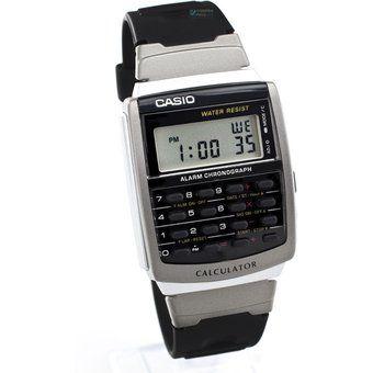 Reloj Casio Vintage CA56 Calculadora-Negro