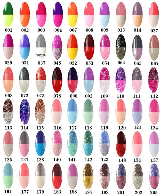 Amazon.com : Perfect Summer New 8ml Gel Polish Temperature Colors Changing UV/LED Soak Off Mood Changing Nail Lacquers Perfect Match French Manicure Nail Art #04 : Beauty