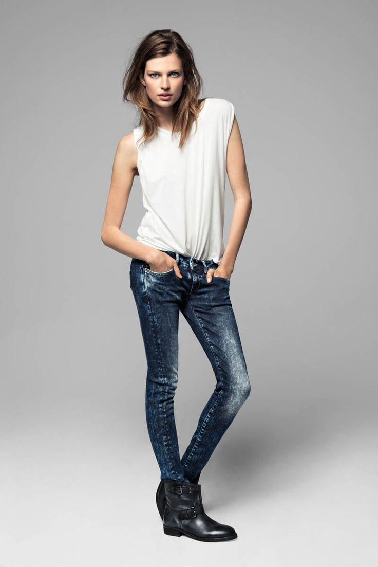 mango bette franke winter2 Bette Franke Models Cool Fashion for Mangos Winter Catalogue