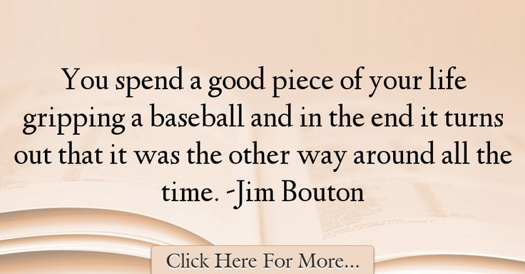 Jim Bouton Quotes About Sports - 63830