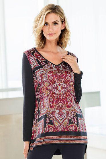 $49 Capture Long Sleeved Top Online | Shop EziBuy