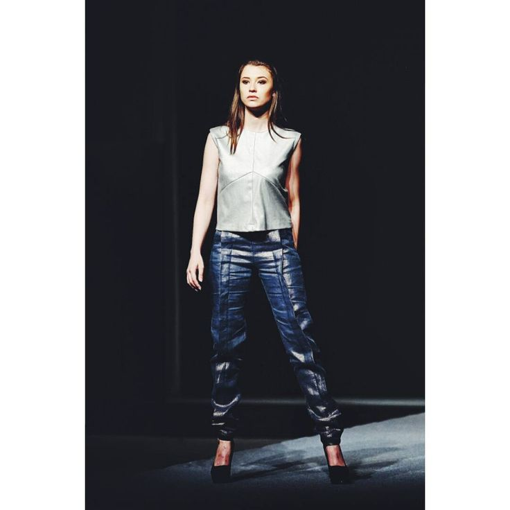 Outfit no.5 from #gogandru collection  #fashion #fashiondiaries #design #galamodauvt2015 #galamodauvt #galauvt #galauvt2015 #picoftheday #vscocam #timisoara #ootd #art #texture #fashiondesign #designer #sculptural #minimalism #white #pictureoftheday #clothes #architecture #inspiration #metallic #holographic #silver #student #collection #instagood #instafashion