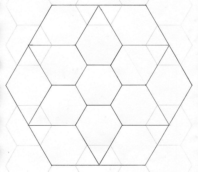 free english paper piecing hexagon templates - 33 best paper piecing point diamond images on pinterest