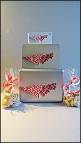 Keksdosen-Set inkl. Plätzchen und iPhone-Hülle von Art-MG auf DaWanda.com