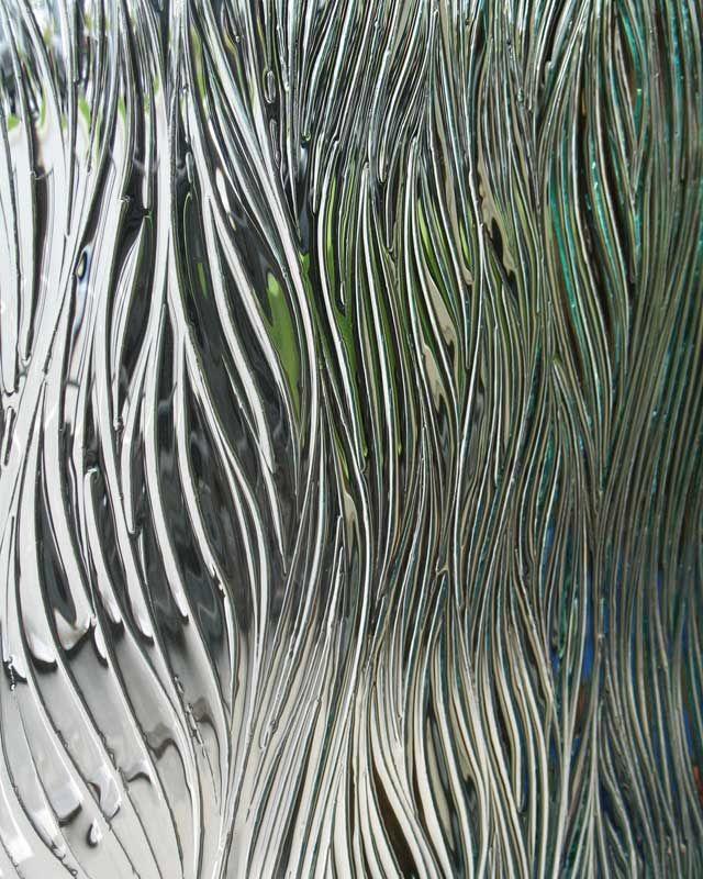 装飾ガラス/フリーフォーム「ウィロー」