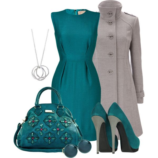 A fashion look from December 2012 featuring Roksanda Ilincic dresses, Wallis coats and Giuseppe Zanotti pumps. Browse and shop related looks.