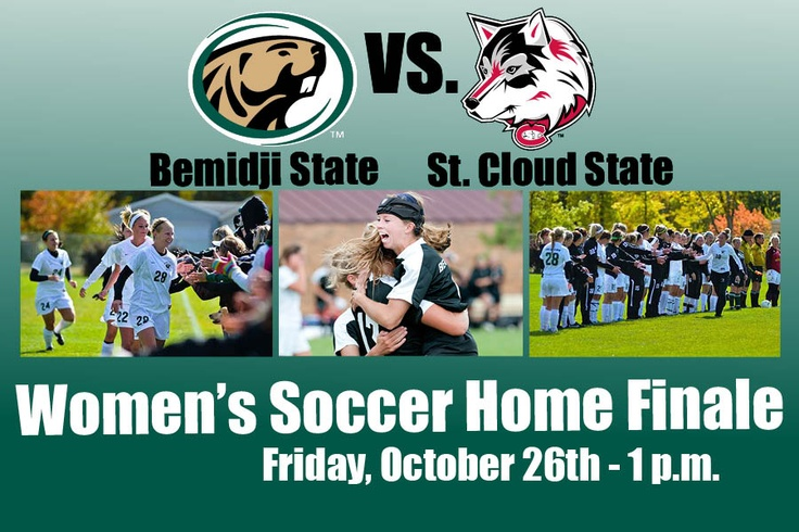 The BSU soccer team hosts St. Cloud State University Friday, Oct. 26 at 1 p.m. It's the Beavers regular-season home finale.  Get out and support BSU soccer!