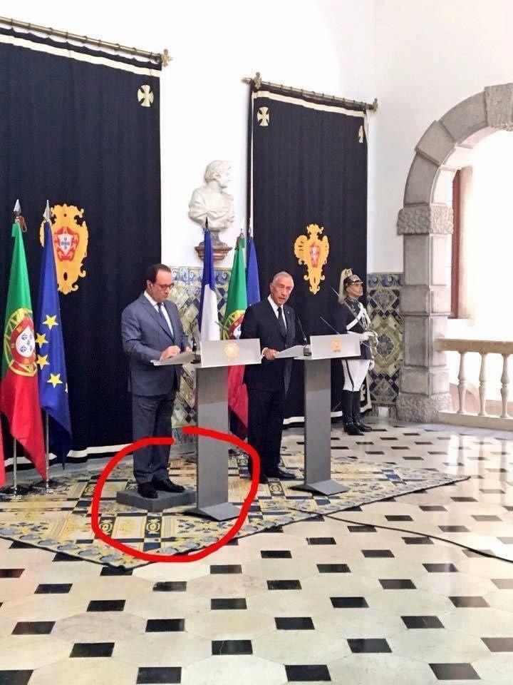 Hollande au Portugal