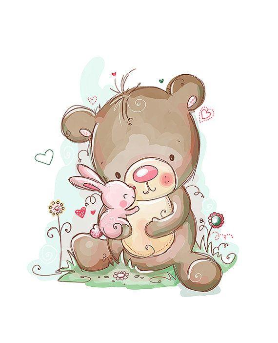You're Unbearably Cute by RachelleAnneMiller on Etsy, $10.00
